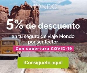 5% DESCUENTO SEGUROS MONDO